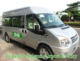 Transfer Saigon Airport to City